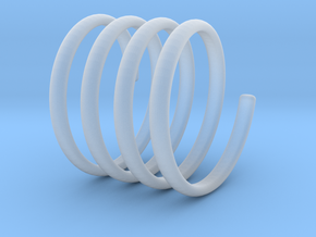 spring coil ring size 5 in Smoothest Fine Detail Plastic