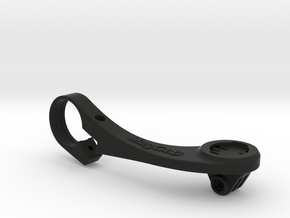 Wahoo Elemnt Out Front GoPro Mount - Long in Black Natural Versatile Plastic