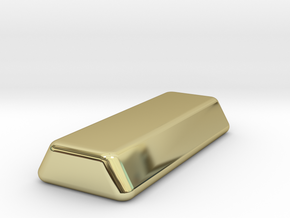 1 oz gold ingot in 18K Yellow Gold