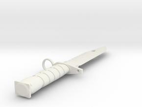 M9 Bay in White Natural Versatile Plastic