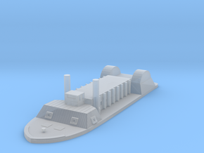1/1000 USS Indianola in Smooth Fine Detail Plastic