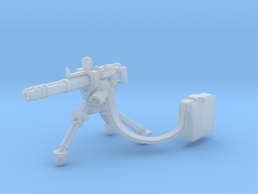 Gatling gun 28mm scale in Smooth Fine Detail Plastic