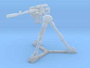 Remote sniper with tripod in Smooth Fine Detail Plastic