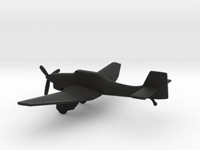 Junkers Ju-87A Stuka in Black Natural Versatile Plastic: 1:160 - N