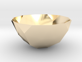 54mm f110 bowl lawal solids gmtrx in 14k Gold Plated Brass