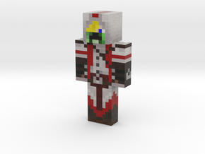 Red Assassin | Minecraft toy in Natural Full Color Sandstone