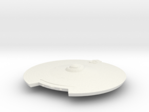 2500 TMP modified refit saucer in White Natural Versatile Plastic