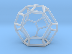"""""""Irregular"""" polyhedron no. 5 in Smooth Fine Detail Plastic: Small"""