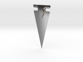 American Arrowhead - Omega in Polished Silver