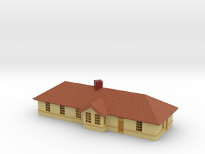 Small Station - Zscale in Natural Full Color Sandstone