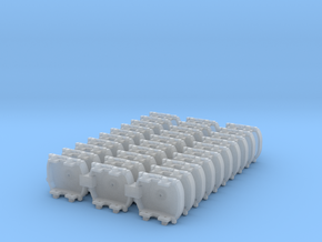 A-1-160-pechot-bogies-1a in Smooth Fine Detail Plastic