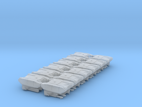 BOGATYR TANK (RUS FACTION) 12 PACK in Smooth Fine Detail Plastic