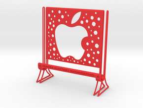 I PAD TABLET STAND in Red Processed Versatile Plastic
