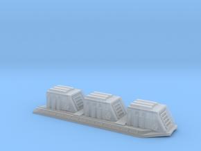 1/5000 Star Destroyer Devastator Dorsal Turrets in Smooth Fine Detail Plastic