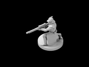 (IA) Clone Sharpshooter Phase 1 in Smooth Fine Detail Plastic