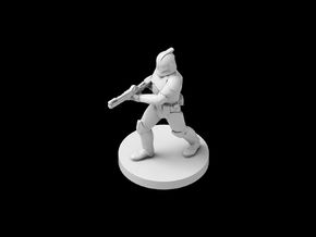 (IA) Clonetrooper Phase 1 6 in Smooth Fine Detail Plastic