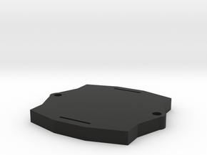4x4 rustler, 4x4 slash gps mount. in Black Natural Versatile Plastic