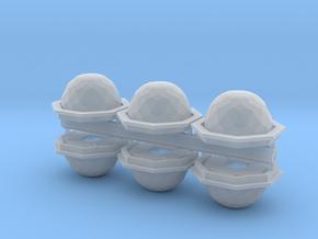 BYOS ADD ON FUEL SPHERE NANO HALF in Smooth Fine Detail Plastic
