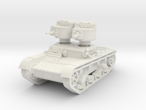 T 26 A Tank scale 1/56 in White Natural Versatile Plastic