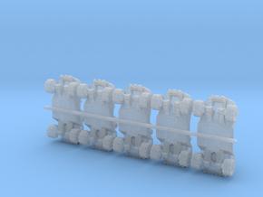 video game-Warthg truck jeep in Smoothest Fine Detail Plastic: 1:400