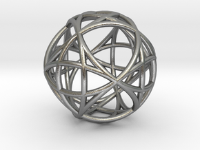Mind 6D Universe Akasha in Natural Silver (Interlocking Parts)