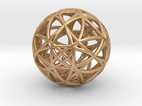 universe akasha memory in Natural Bronze (Interlocking Parts)