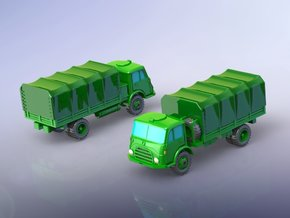 Steyr 680 4x4 Trucks 1/200 in Smooth Fine Detail Plastic