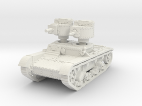 T 26 A 37mm Tank scale 1/87 in White Natural Versatile Plastic