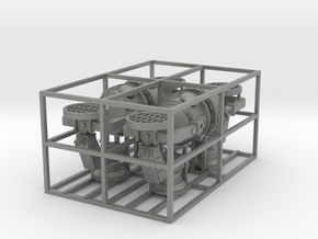 1:100 4x Grosser Fla-Scheinwerfer ab 37 beweglich in Gray Professional Plastic