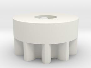 03.02.05.12 Elevator Sensor Gear in White Natural Versatile Plastic