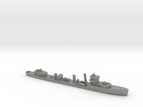 HMS Vega 1:2400 WW2 naval destroyer in Gray PA12