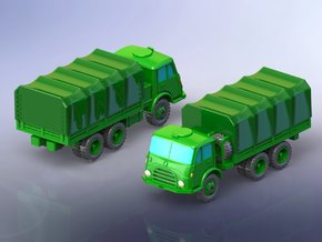 Steyr 680 6x6 Trucks 1/220 in Smooth Fine Detail Plastic