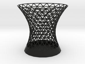 Triangulated Penholder in Black Natural Versatile Plastic