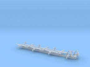 Hawker Sea Hawk w/Gear x8 (CW) in Smooth Fine Detail Plastic: 1:700