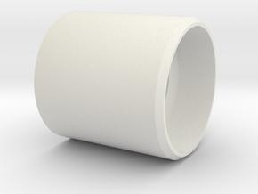 HFP-101110 Throttle handle Top in White Natural Versatile Plastic