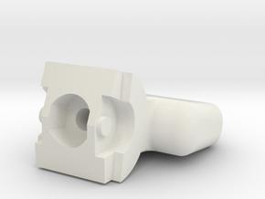 08.02.02.07 Morse Setting Lever Down (1) in White Natural Versatile Plastic
