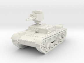 OT 26 Flamethrower Tank 1/87 in White Natural Versatile Plastic