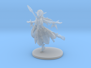 Hippy Elf Sorcerer in Smooth Fine Detail Plastic