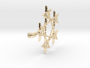 5 star in 14K Yellow Gold