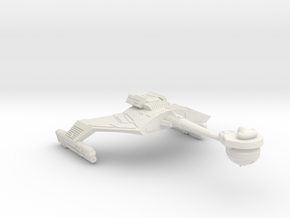 3788 Scale Klingon FD7K Fast Battlecruiser WEM in White Natural Versatile Plastic