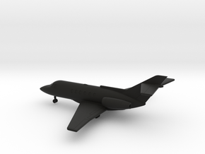 Hawker 800 (BAe 125-800) in Black Natural Versatile Plastic: 1:200