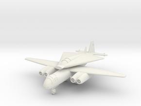 (1:144) Arado Ar 234 C w/ Lippisch P.12 Entwurf IV in White Natural Versatile Plastic