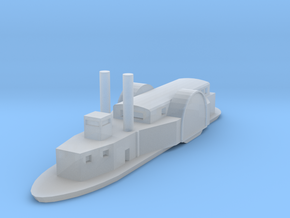 1/1000 USS/CSS Queen of the West in Smooth Fine Detail Plastic
