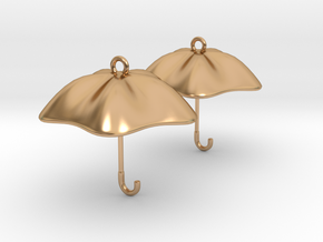 The Golden Umbrella in Polished Bronze