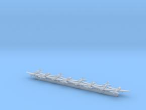 A6M2 'Zero' w/Gear x8 (FUD) in Smooth Fine Detail Plastic: 1:700