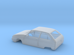 Oltcit (Citroen Axel) Body Scale 1:87 in Smooth Fine Detail Plastic