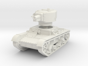 T 26 4 76mm Tank 1/87 in White Natural Versatile Plastic