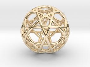 Gen Water 10D Relativity Core in 14k Gold Plated Brass