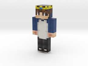 Andr3   Minecraft toy in Natural Full Color Sandstone