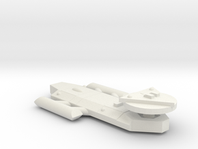 3125 Scale Worb Frigate (FF) MGL in White Natural Versatile Plastic